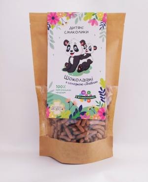 Завтраки сухие крупяные. Крупяные смаколики «Шоколадные, со сладкой стевией и витаминами», 25 г